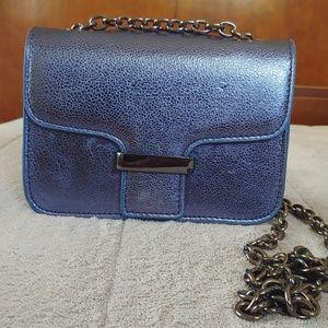 Blue mango chain bag